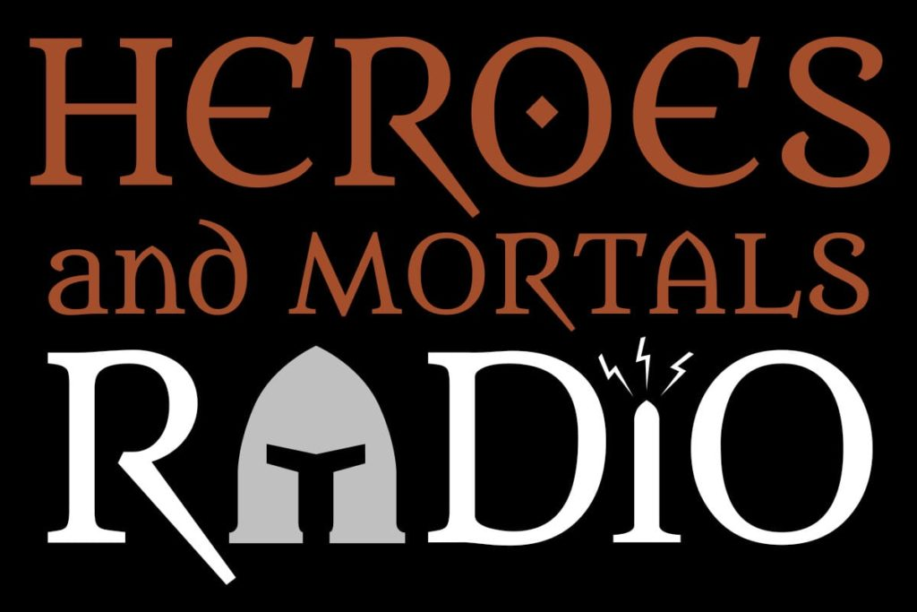 Heroes and Mortals Radio logo