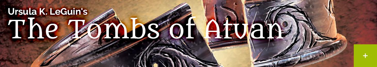 Event banner The Tombs of Atuan by Ursula K. Le Guin